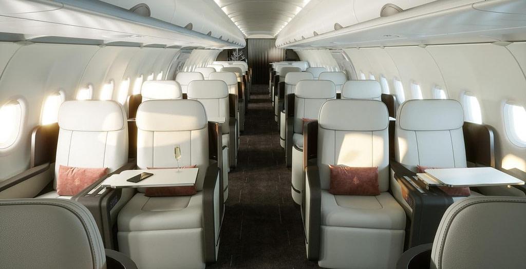 Airbus four seasons expérience dans le luxe