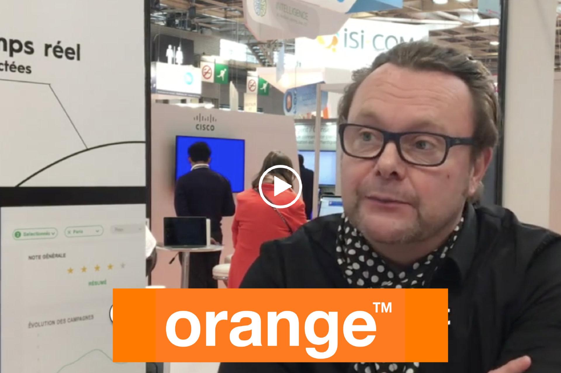 Interview de Guillaume Oudenot par Orange