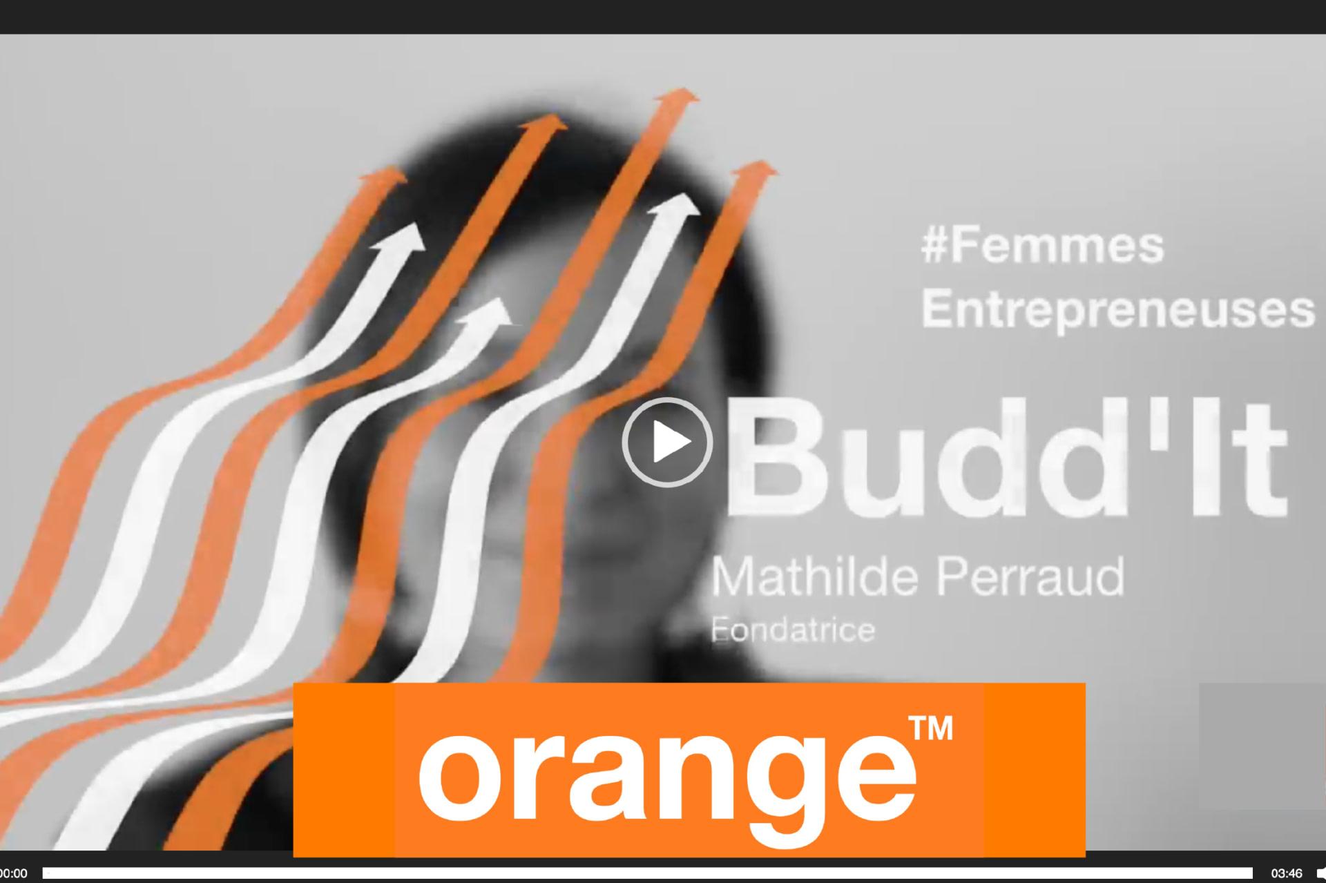 Interview de Mathilde Perraud par Orange
