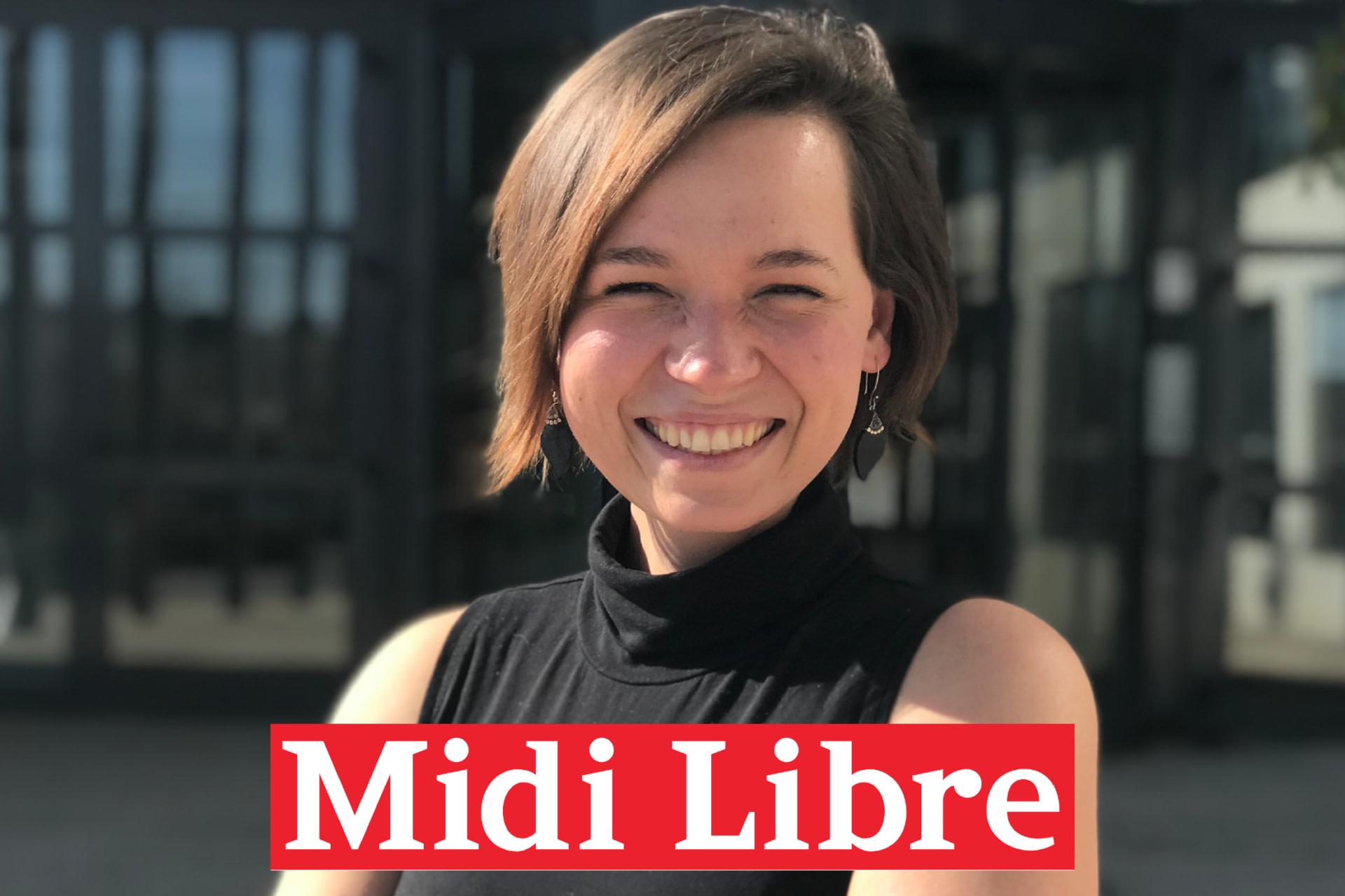 Mathilde Perraud à Cap Oméga