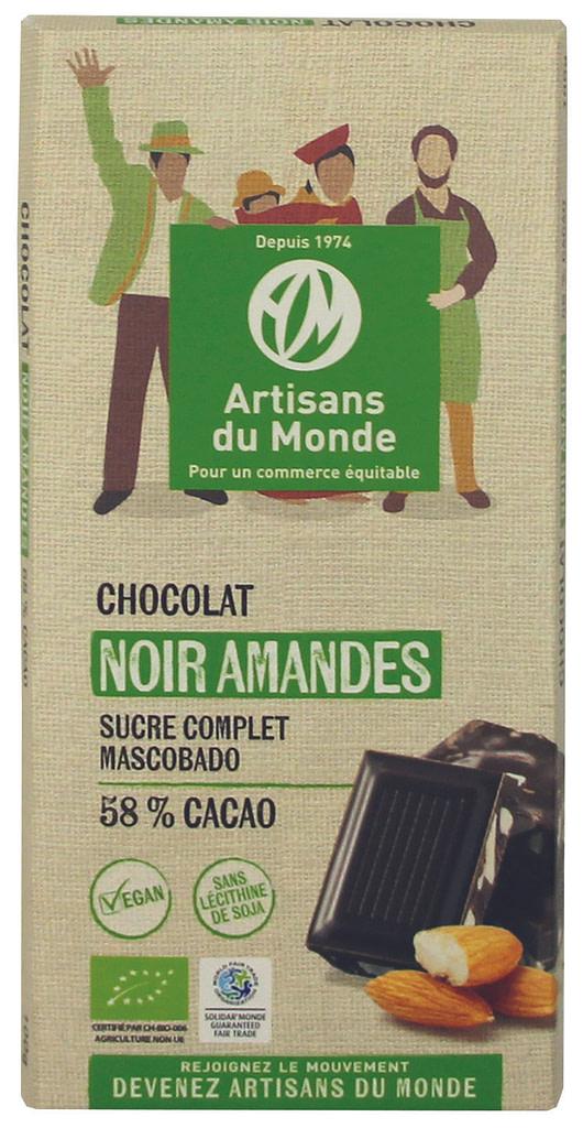 Tablette de chocolat artisans du monde