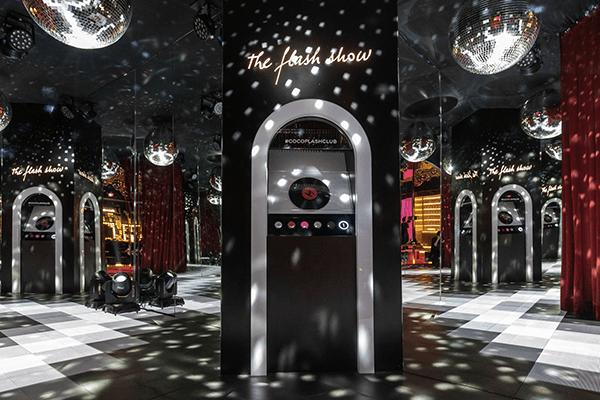 Expérience client Chanel pop-up flash club expérience dans le luxe