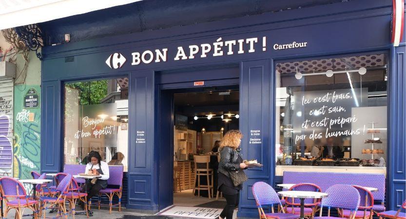 Commerce Bon Appétit Carrefour