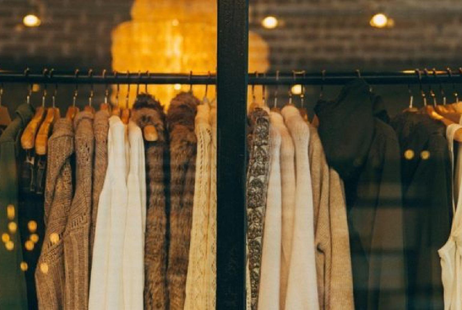 Vêtements suspendus